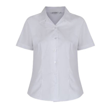 Short Sleeve Non Iron Polycotton Shirts - Twin Pack - junior Thumbnail